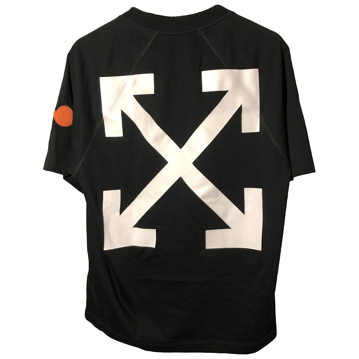 Moncler X Off-white \N Black Cotton T-shirts for Men S International