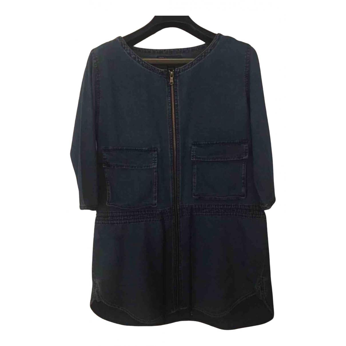 Marc By Marc Jacobs \N Kleid in  Blau Baumwolle