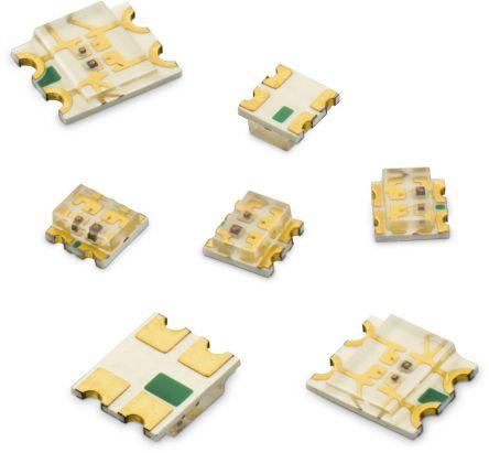 Wurth Elektronik 2.4 V Green & Yellow LED 3225 (1210) SMD,  WL-SBCW 150121YV74000 (3000)