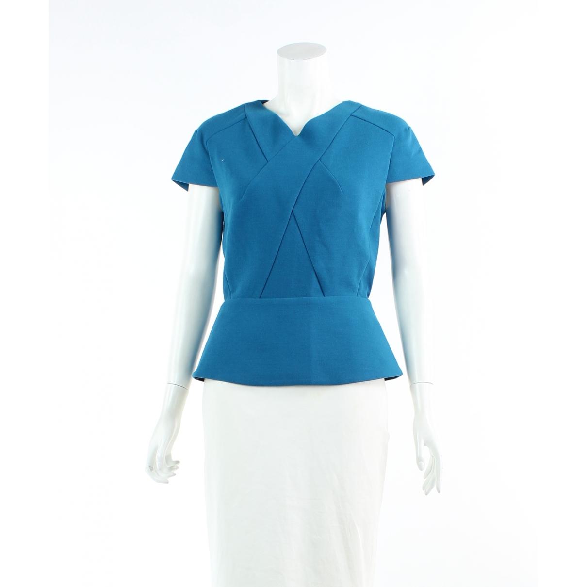Roland Mouret \N Blue  top for Women 12 UK