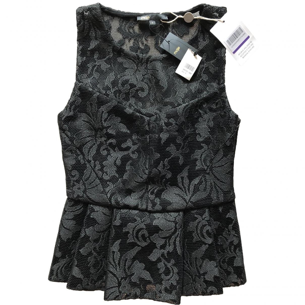 Maje \N Black  top for Women 1