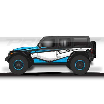 Proline Wraps JL Series Cliff Wrap (Blue) - PLJL4-CLF-BLU