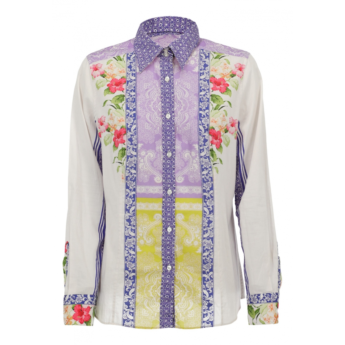 Etro \N Multicolour Cotton  top for Women 46 IT