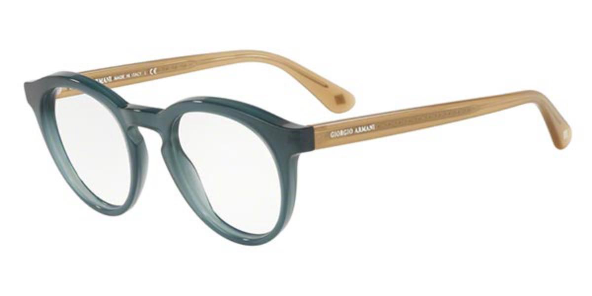 Giorgio Armani AR7159 5680 Men's Glasses Green Size 48 - Free Lenses - HSA/FSA Insurance - Blue Light Block Available