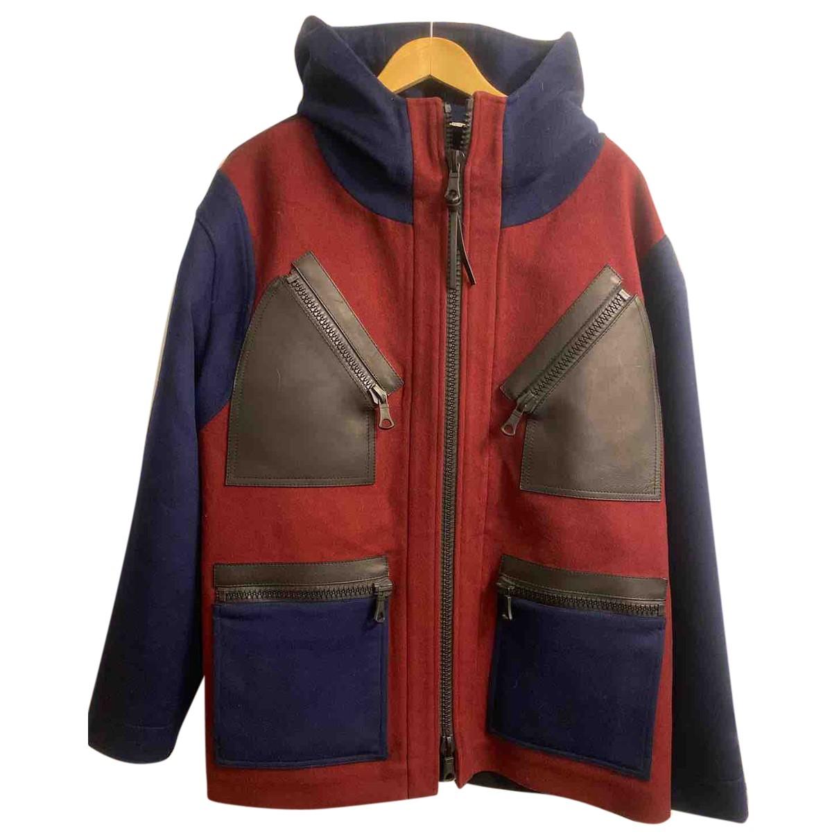 Valentino Garavani \N Burgundy Wool jacket  for Men 52 FR