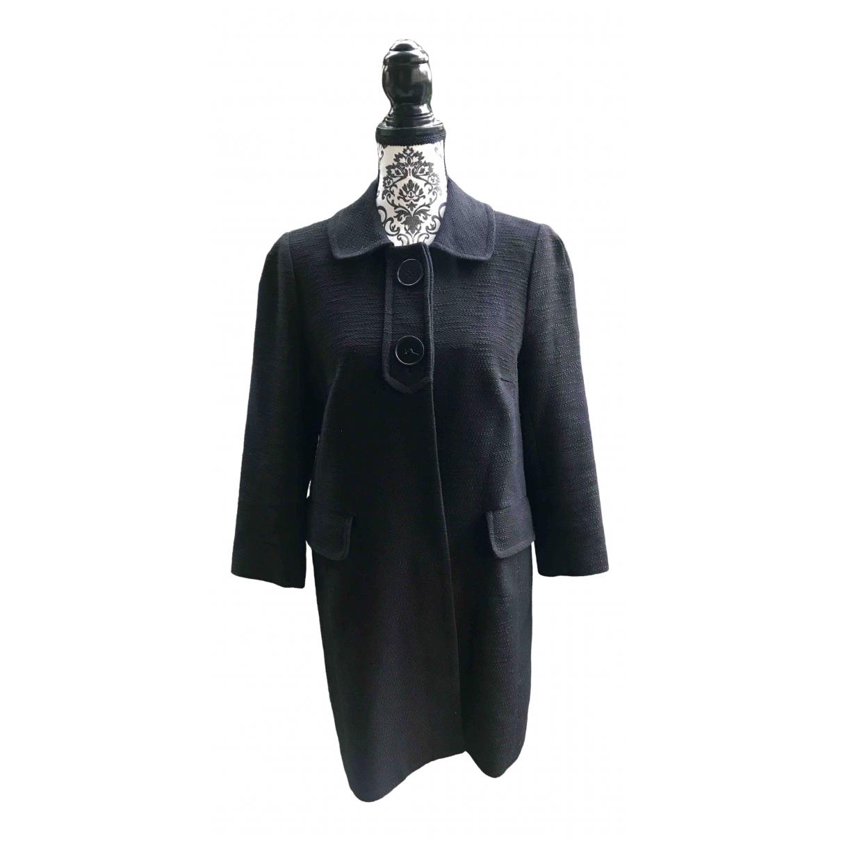 Tara Jarmon - Manteau   pour femme en coton - noir