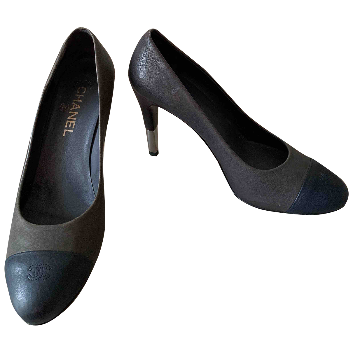 Chanel N Multicolour Leather Heels for Women 39.5 EU