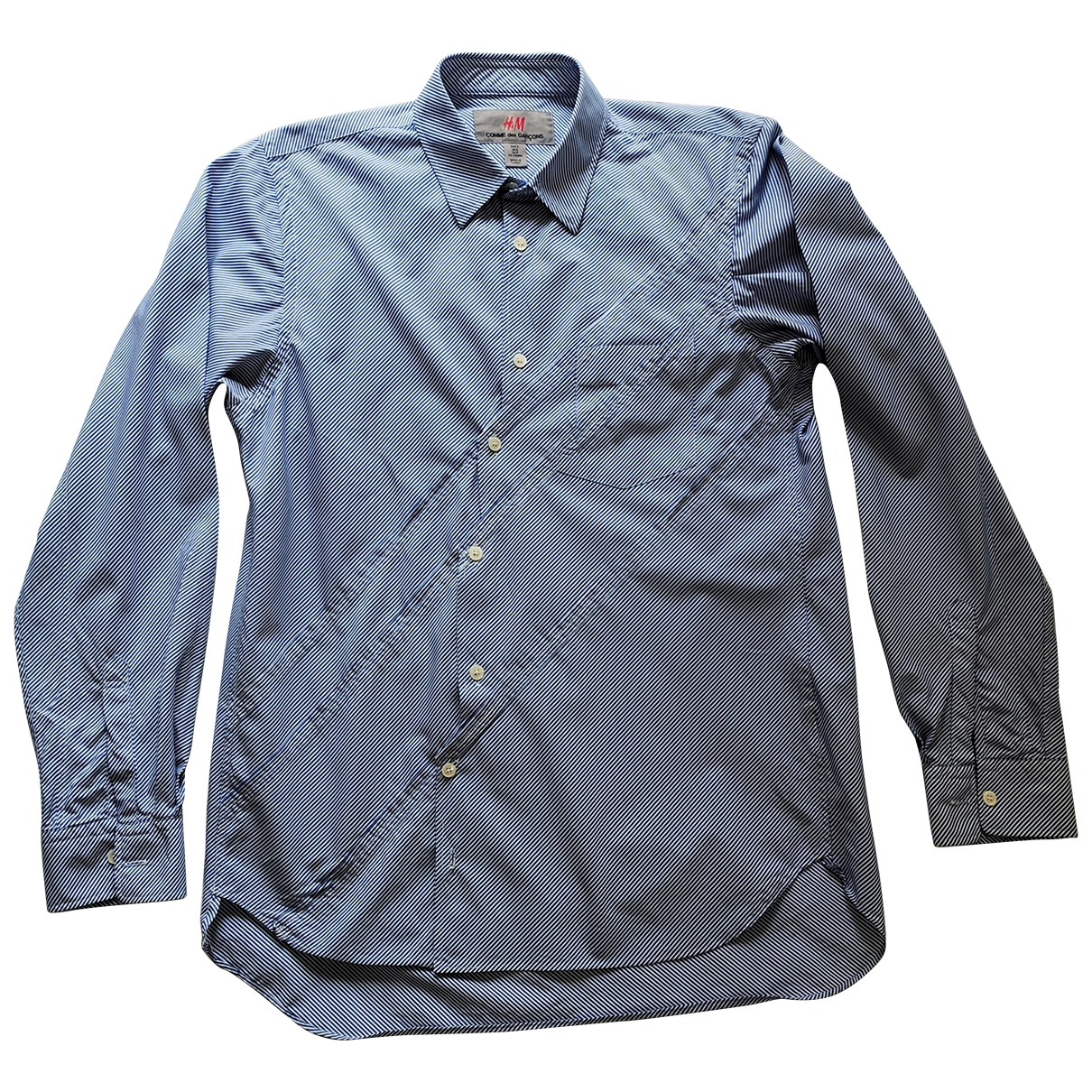 Comme Des Garcons X H&m \N Hemden in  Blau Baumwolle