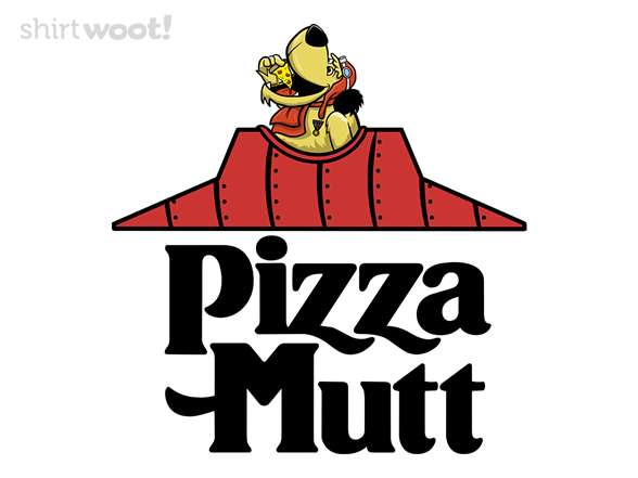 Pizza Mutt T Shirt