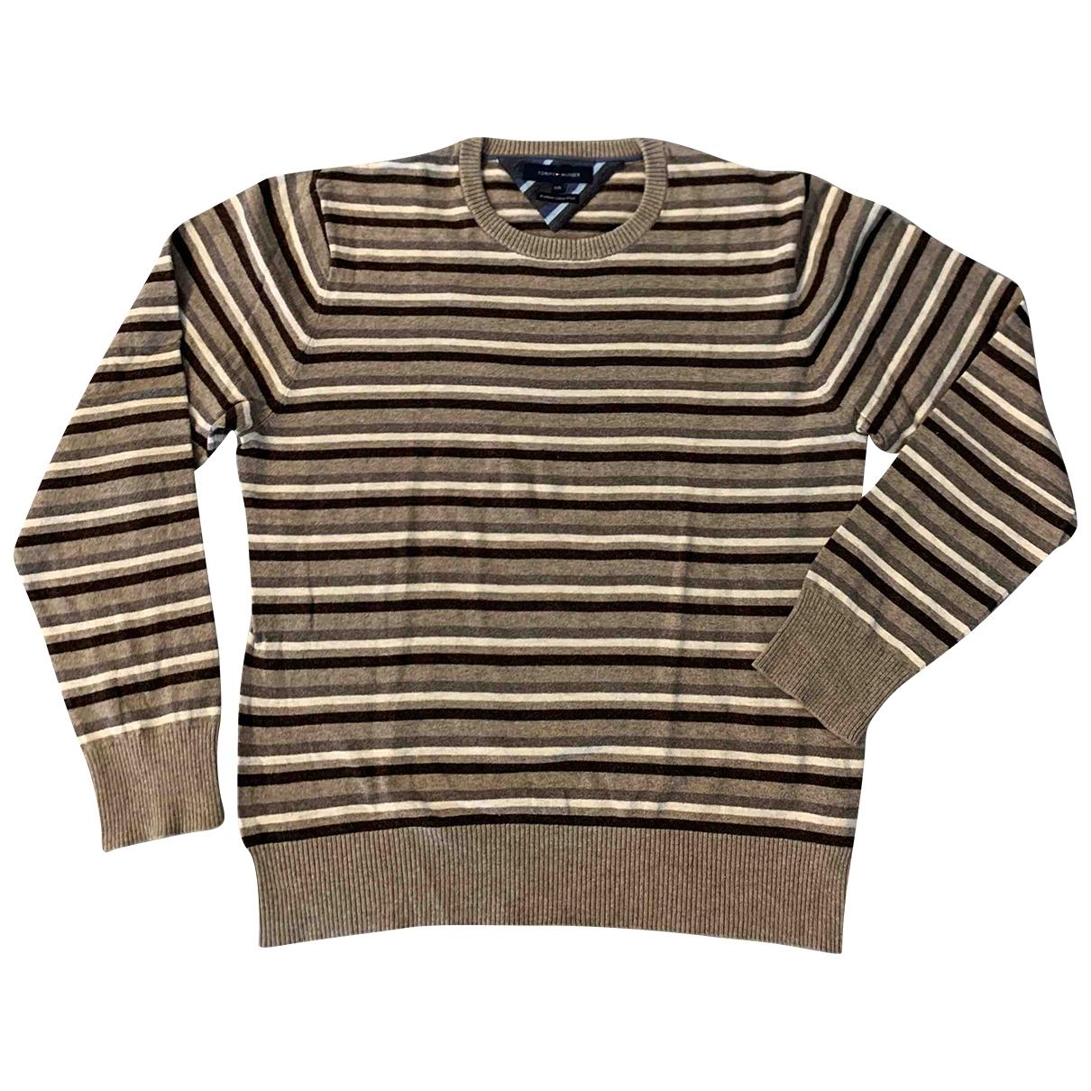 Tommy Hilfiger \N Pullover.Westen.Sweatshirts  in  Kamel Baumwolle