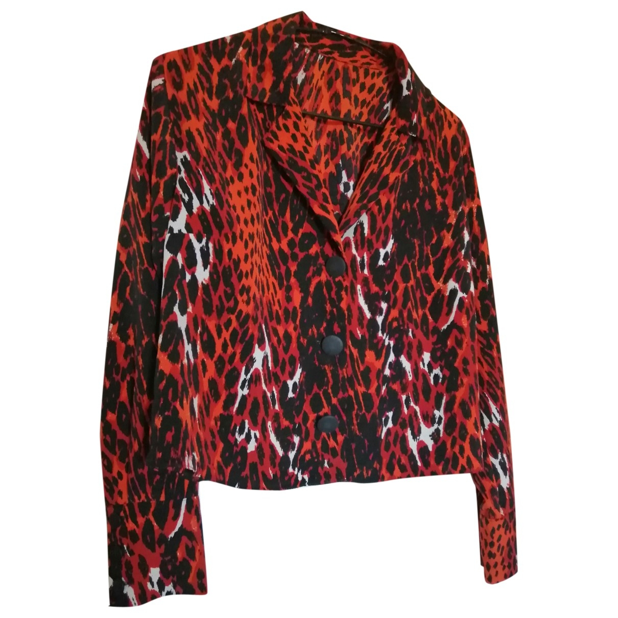 Non Signé / Unsigned Oversize Multicolour  top for Women 10 UK