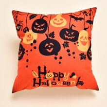 Halloween Pumpkin Cushion Cover Without Filler