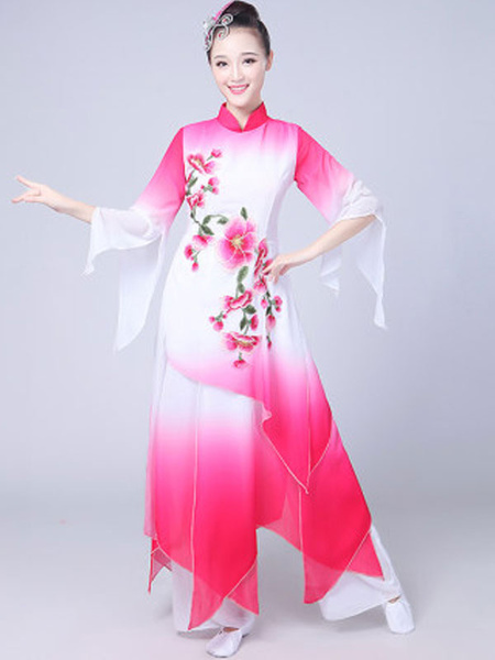 Milanoo Traditional Chinese Costumes Holidays Carnival Dance Costumes