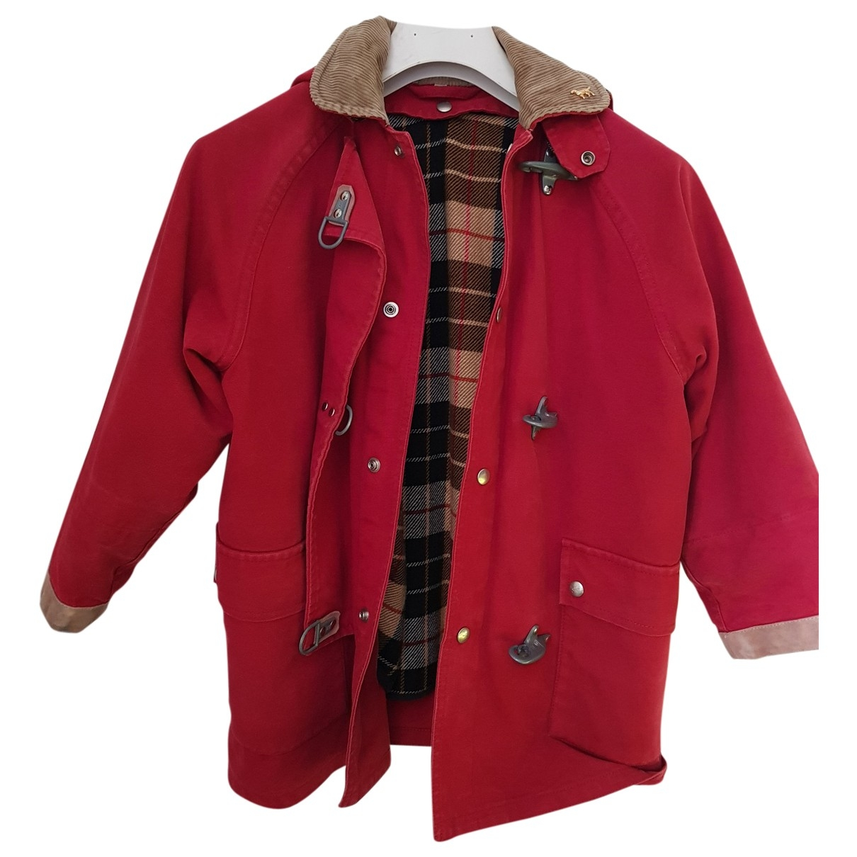 Fay \N Red Cotton jacket & coat for Kids 8 years - up to 128cm FR
