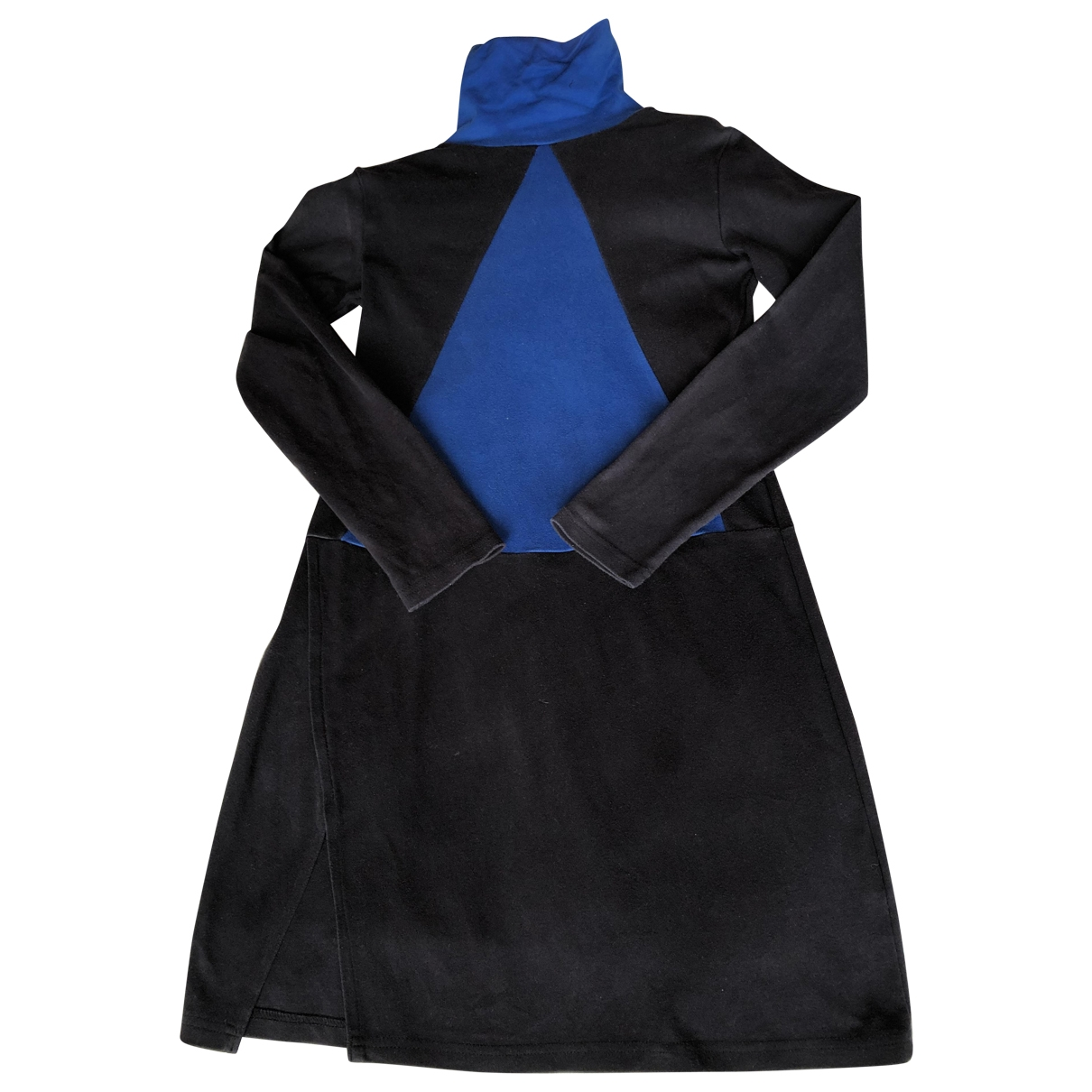 Non Signé / Unsigned \N Blue Cotton dress for Women M International