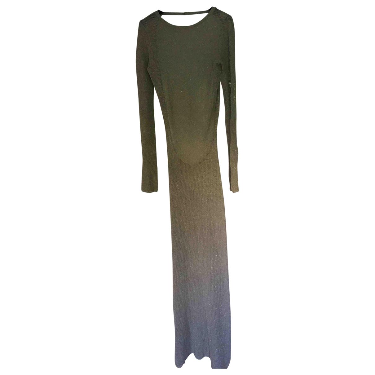 Zadig & Voltaire \N Silver Glitter dress for Women 36 FR