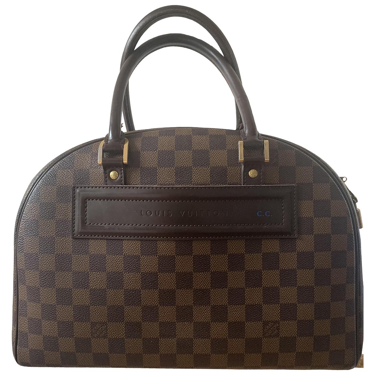 Louis Vuitton Nolita Handtasche in Leinen