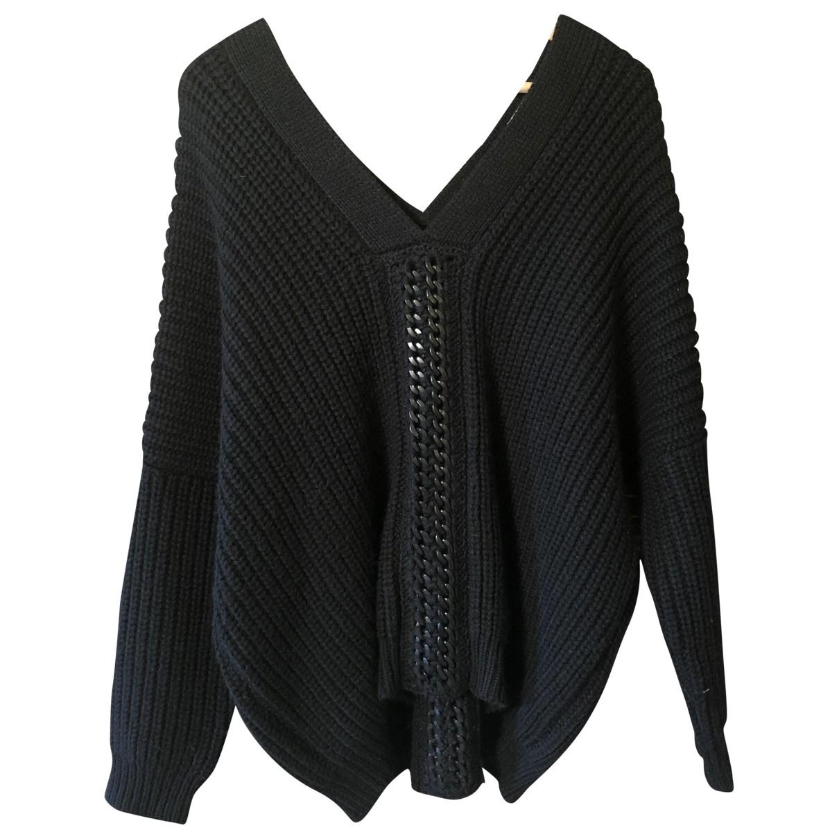 Bel Air \N Pullover in  Schwarz Wolle