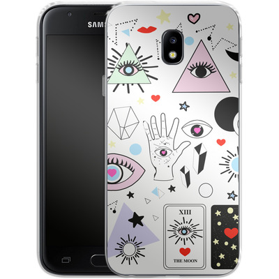 Samsung Galaxy J3 (2017) Silikon Handyhuelle - Evil Eye von Mukta Lata Barua
