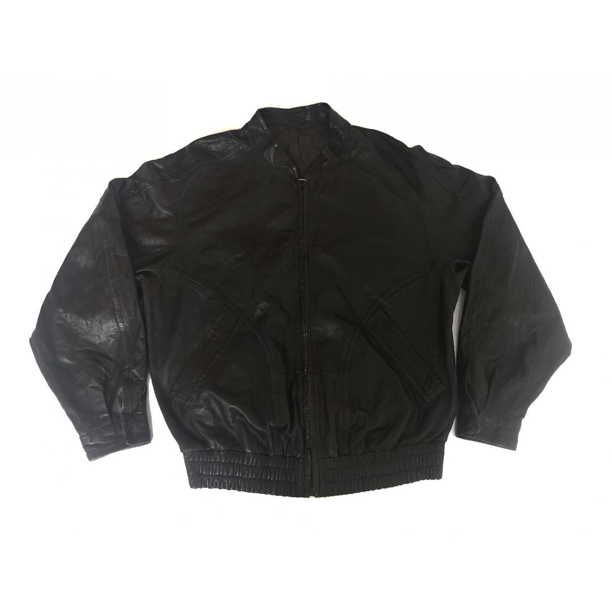 Bally \N Black Leather jacket  for Men 40 UK - US