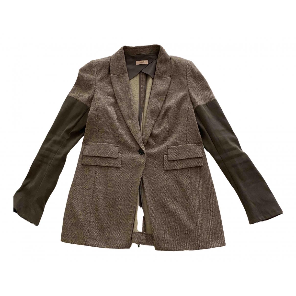 Laurel - Veste   pour femme en laine - gris