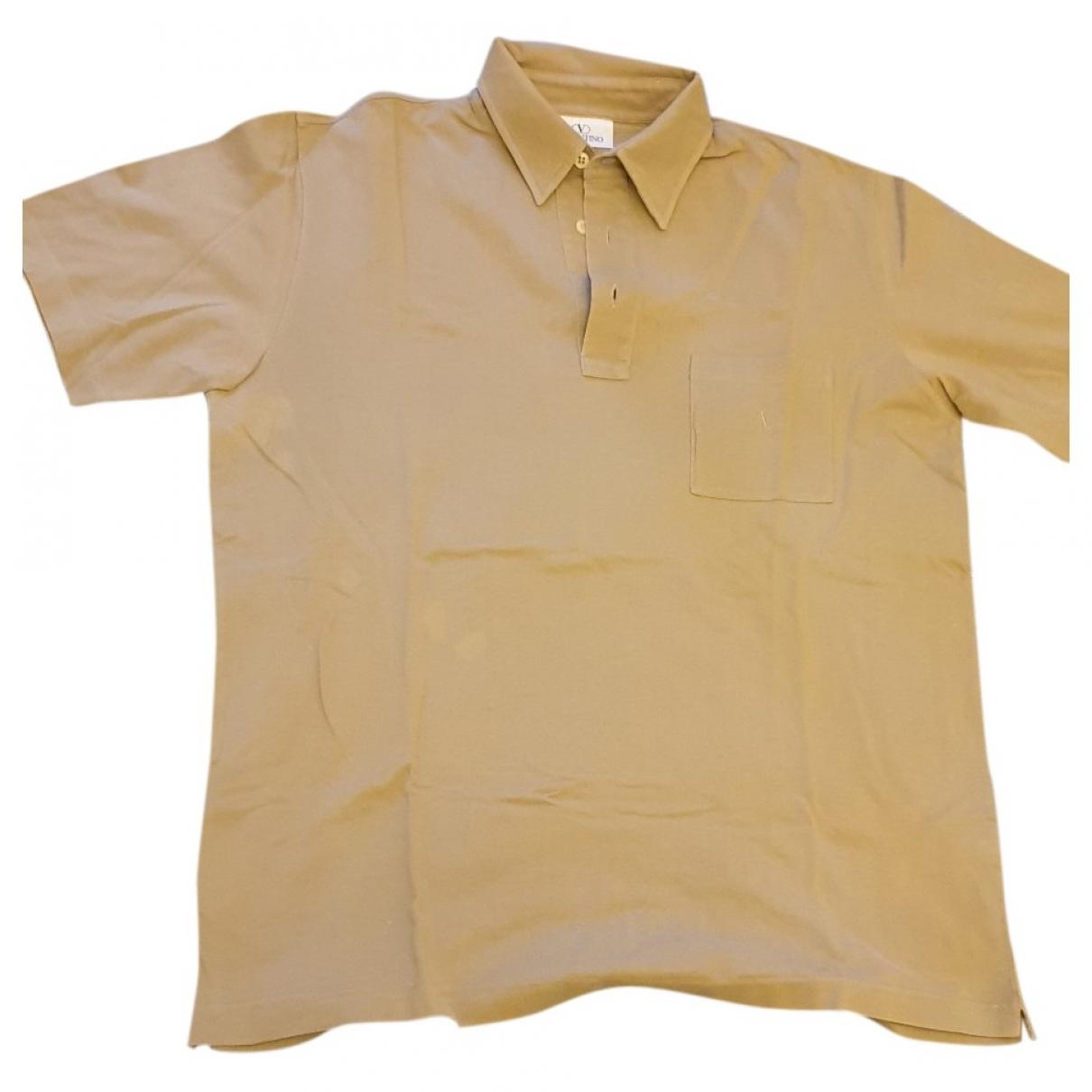 Valentino Garavani - Polos   pour homme en coton - beige
