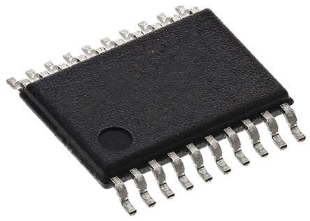Texas Instruments TLV5631IPW, 8-Channel Serial DAC, 283ksps, 20-Pin TSSOP