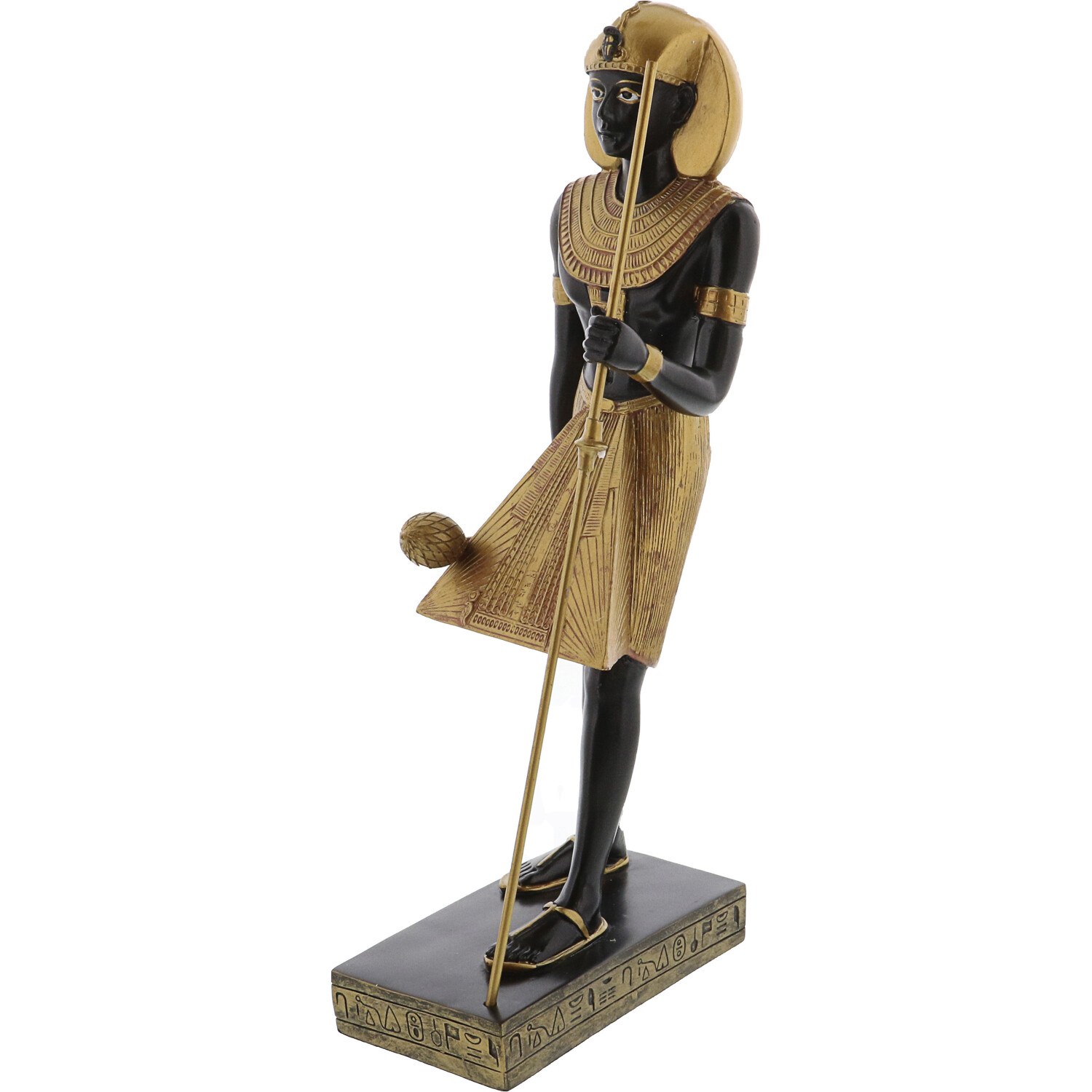 Ptc 11.75 Inch Egyptian Man Guardian Figurine Collectible 7718