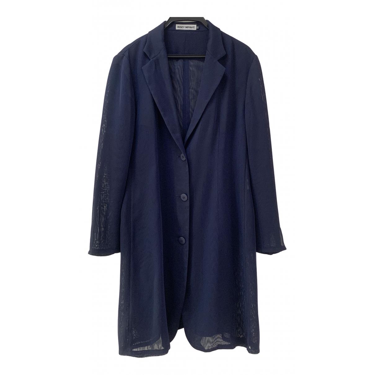 Issey Miyake \N Navy coat for Women One Size International