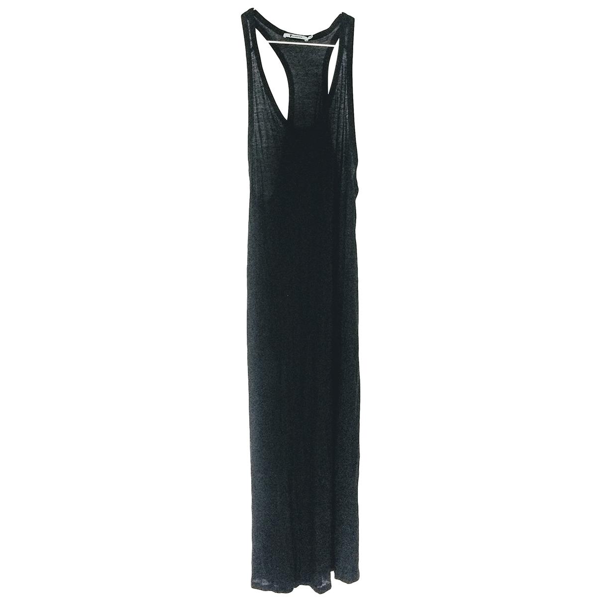 T By Alexander Wang \N Black Cotton dress for Women L International