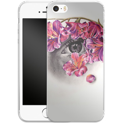 Apple iPhone 5 Silikon Handyhuelle - This Night Has Opened My Eyes von Kate Powell
