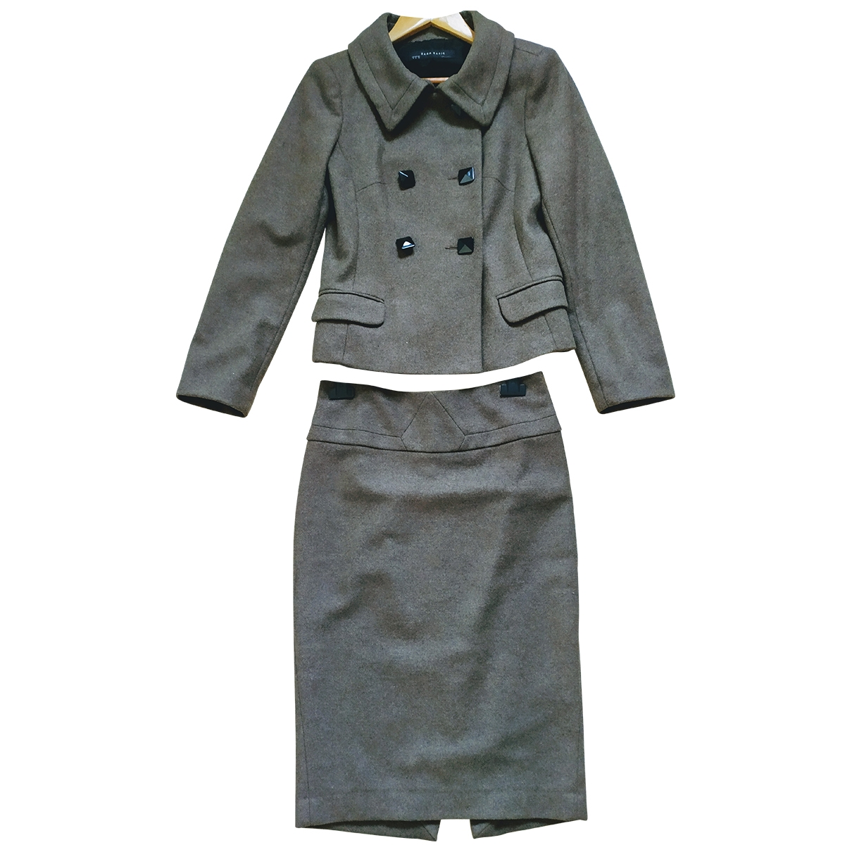 Zara \N Brown Wool dress for Women S International