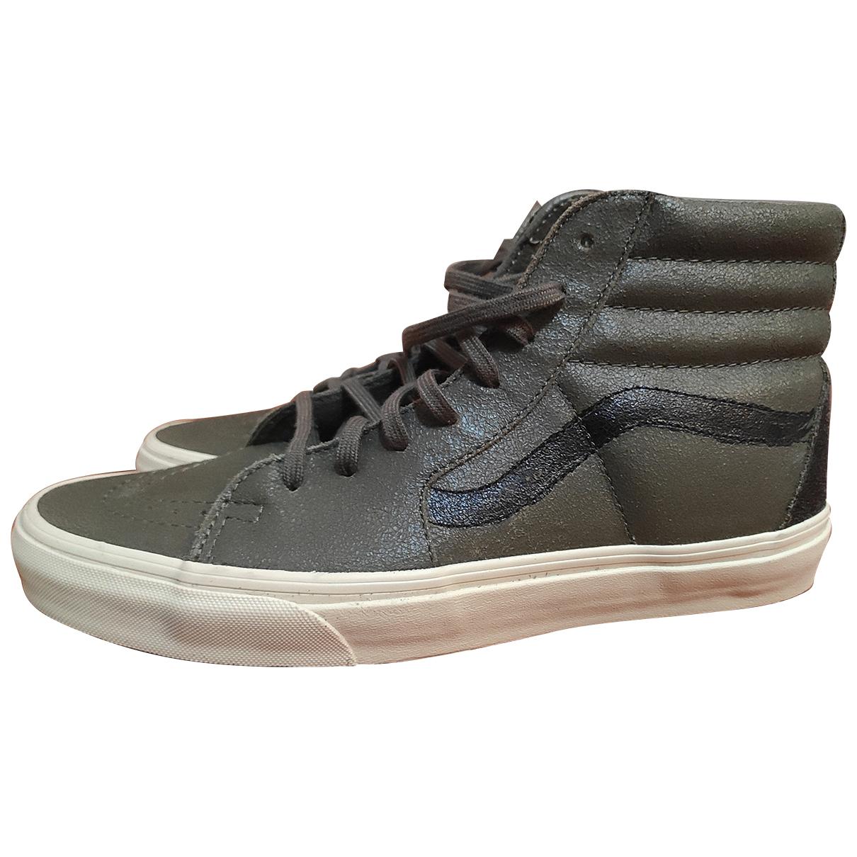 Marni \N Sneakers in  Gruen Leder