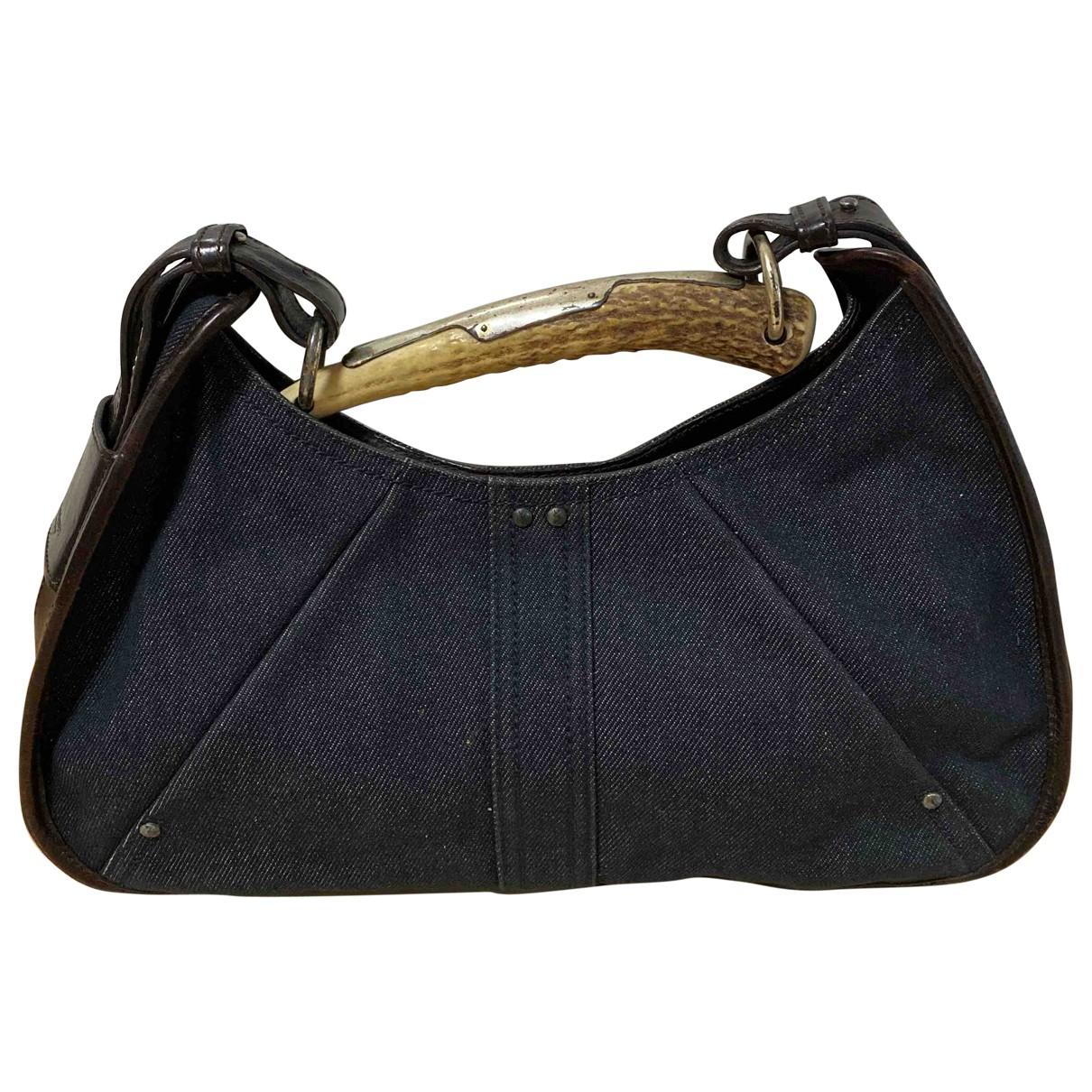 Yves Saint Laurent Mombasa Blue Denim - Jeans handbag for Women \N
