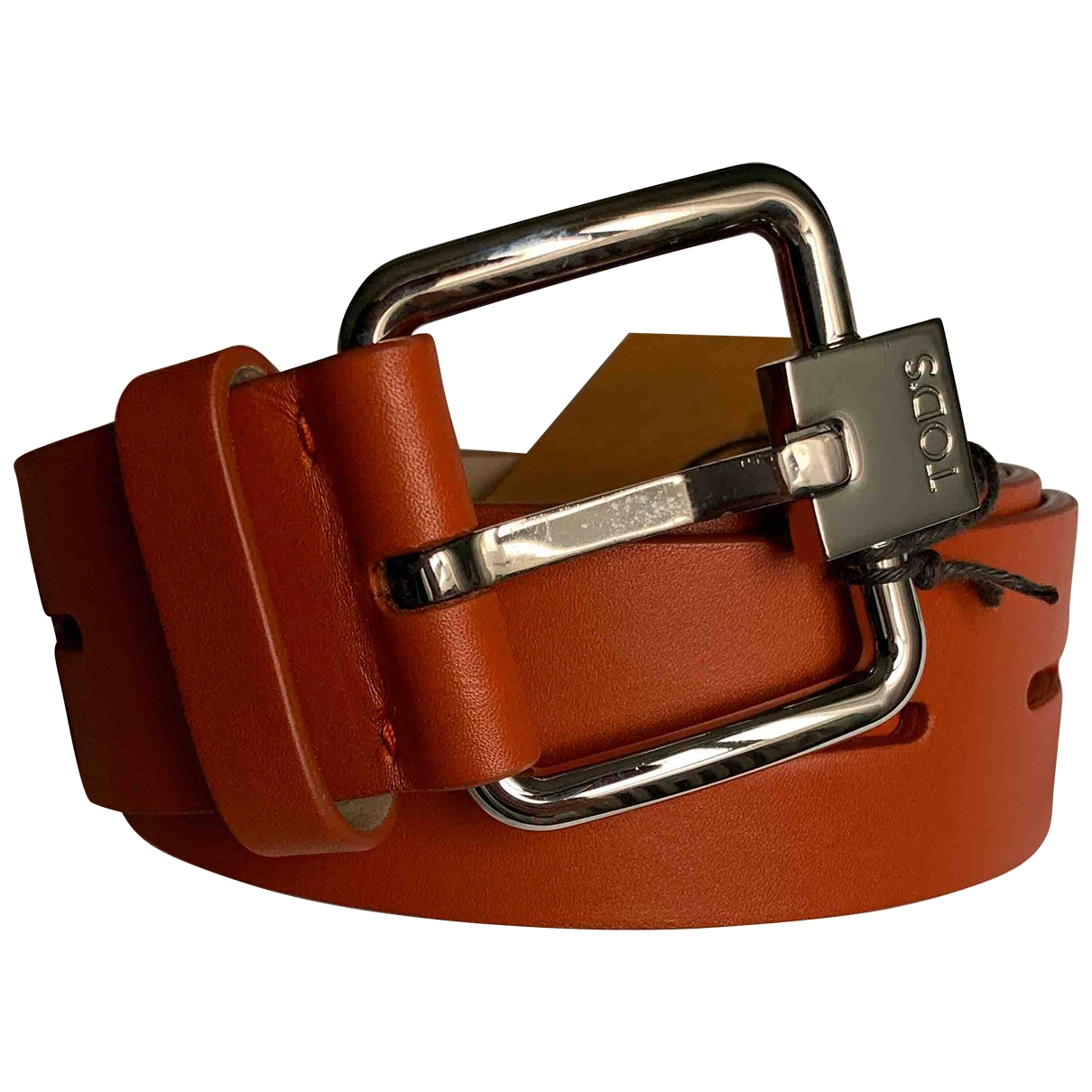 Tod's \N Camel Leather belt for Women 85 cm