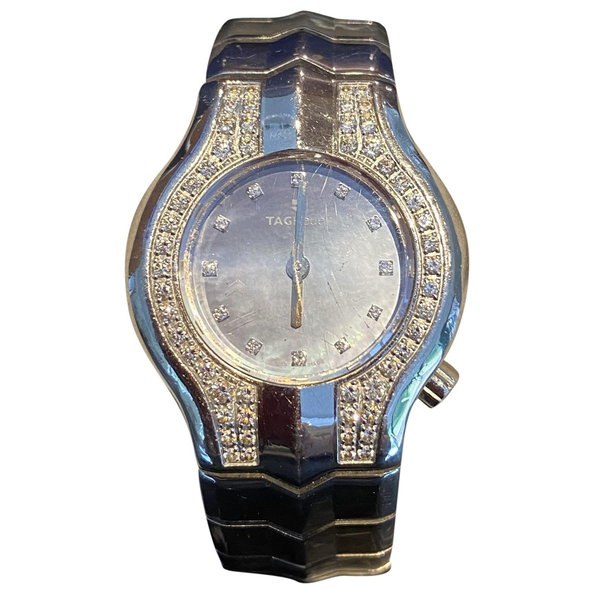 Tag Heuer Alter Ego Uhr in  Silber Stahl