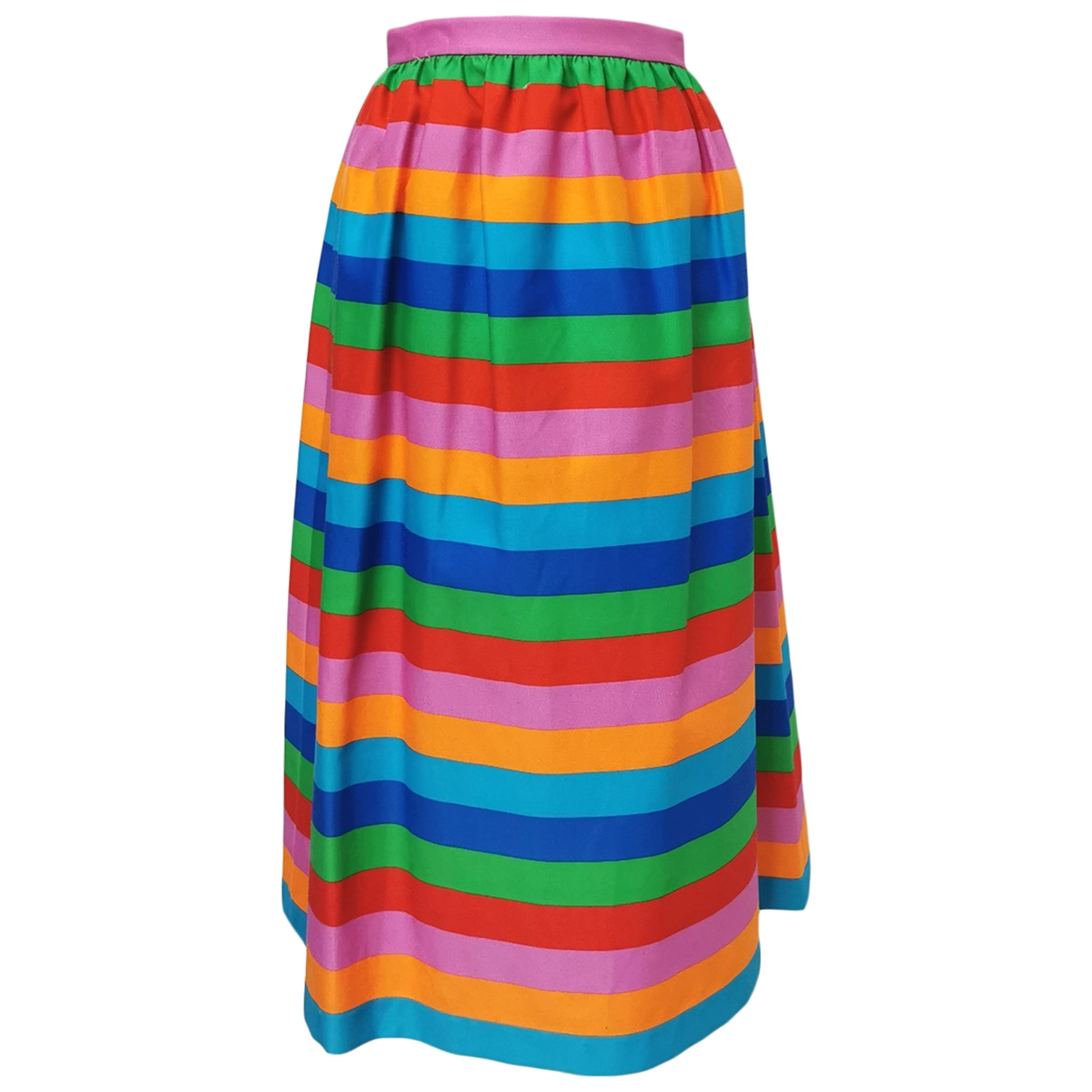 Valentino Garavani - Jupe   pour femme en coton - multicolore