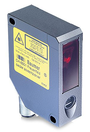 Baumer OADM Distance Sensor Background Suppression 30 → 50 mm Detection Range Analogue