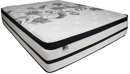 Brylee Collection DM1470CK-M 14 Euro Pillow Top Mattress - California King in