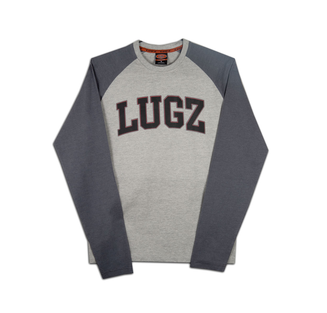 Men's Lugz First Pitch Raglan Tee (Choose Your Size: XL, Choose Your Color: GREY HEATHER)