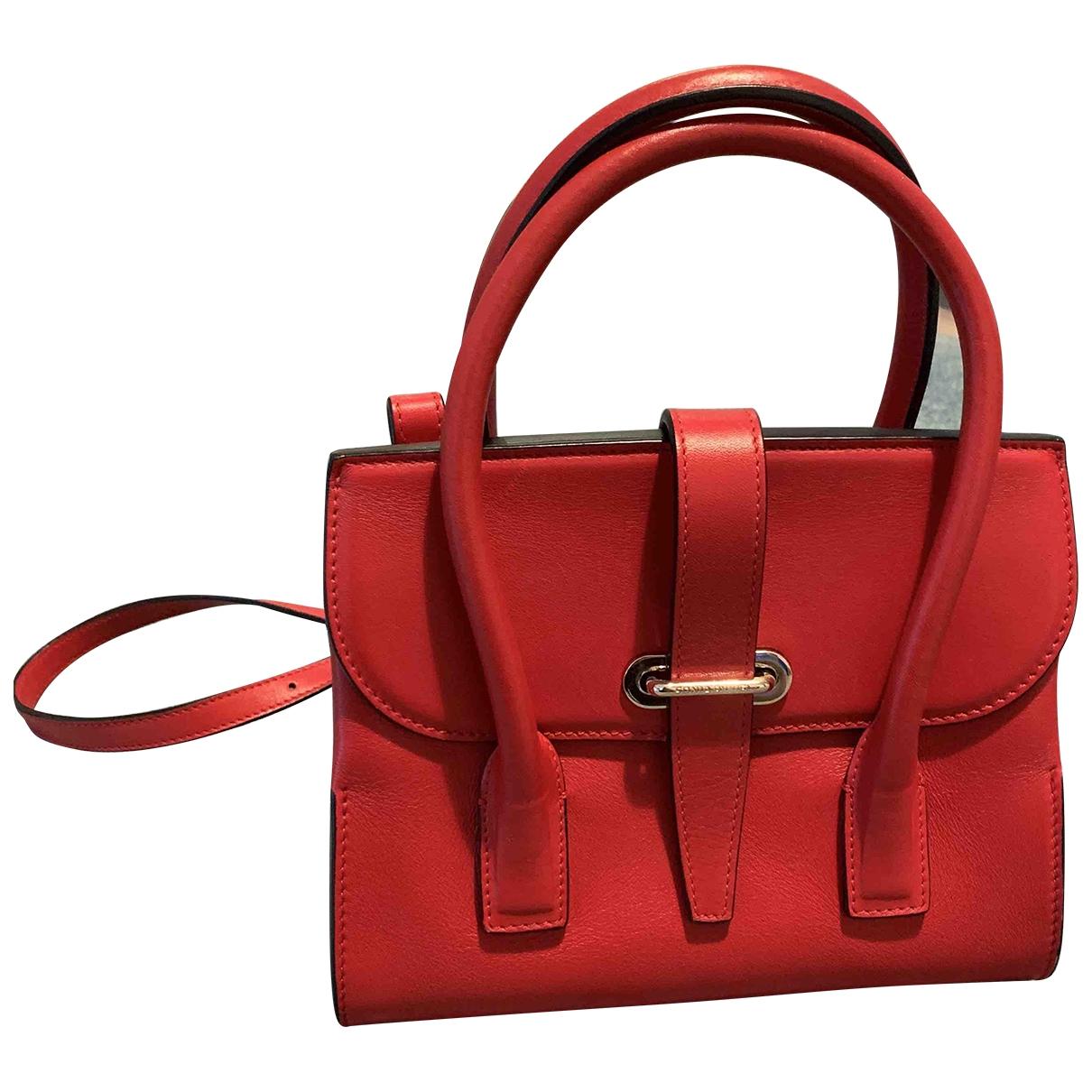 Sonia Rykiel \N Handtasche in  Rot Leder