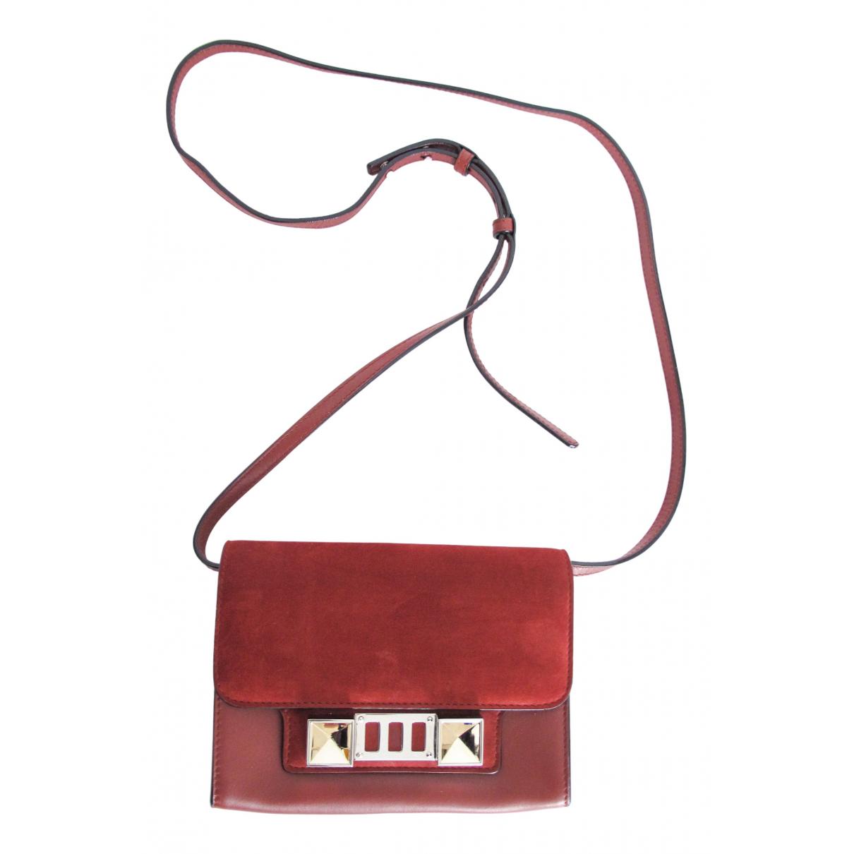 Proenza Schouler PS11 Red Leather handbag for Women N