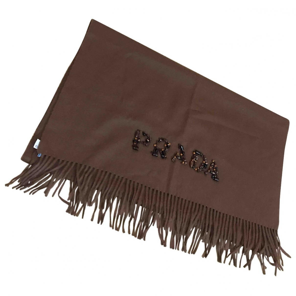 Prada \N Schal in  Braun Wolle