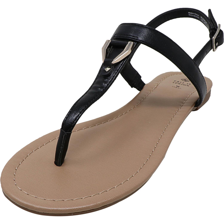 Call It Spring Women's Jadene Black Ankle-High Sandal - 7.5M