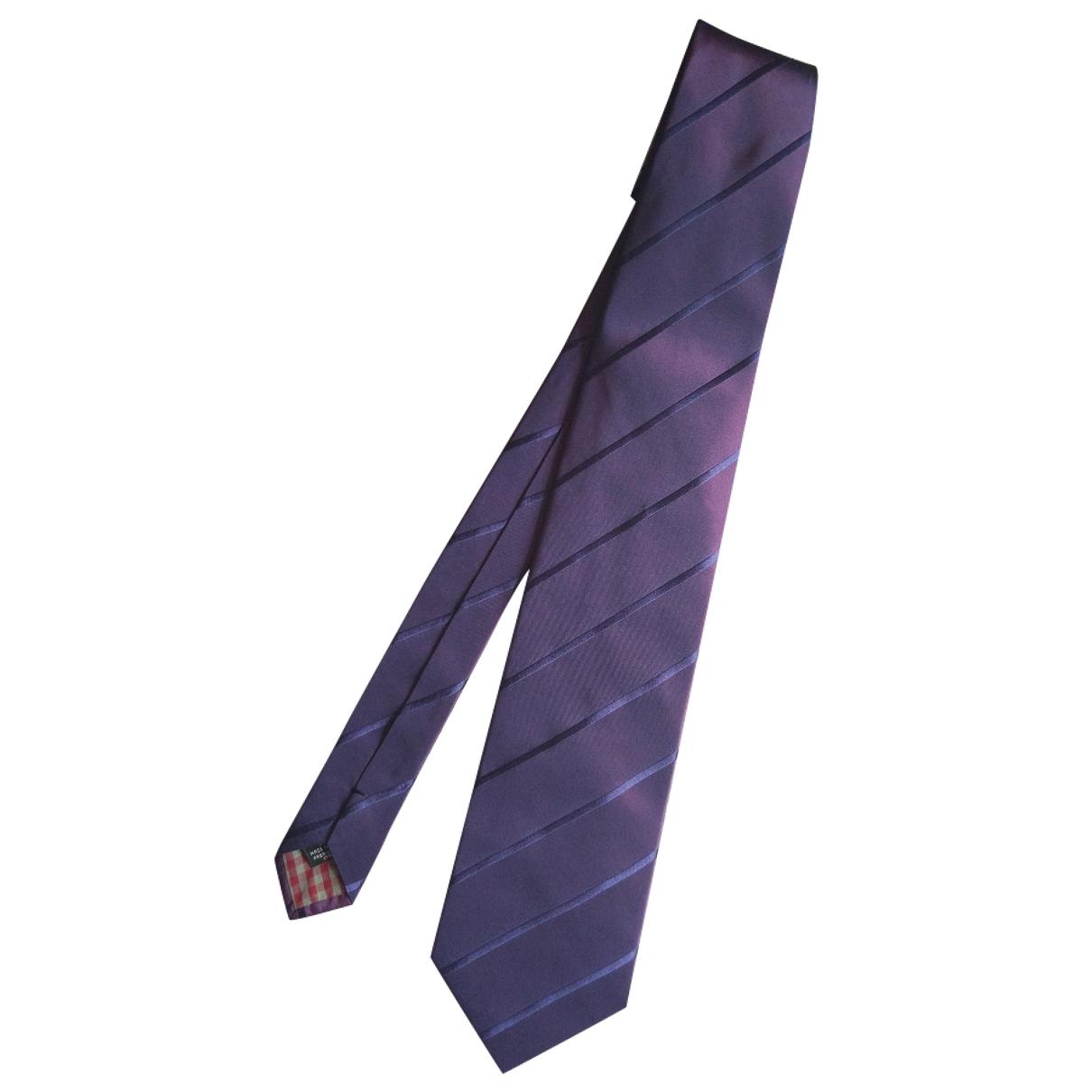 Kenzo \N Krawatten in  Metallic Seide