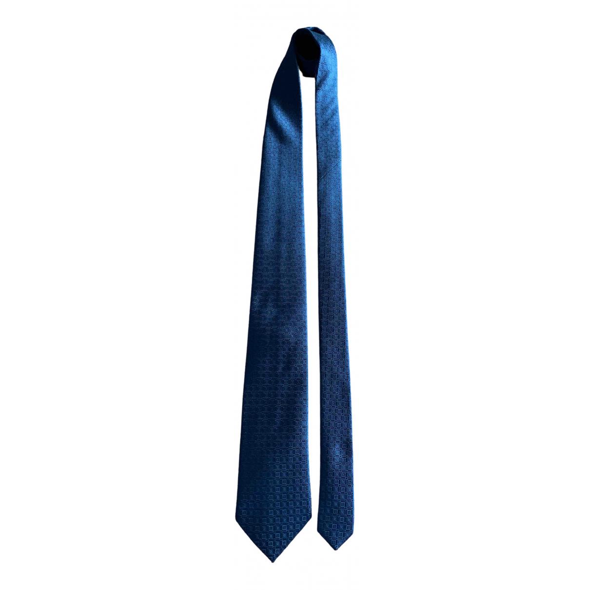 Boss - Cravates   pour homme en soie - noir