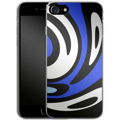 Apple iPhone 7 Silikon Handyhuelle - Minimalistic Surfer Way von Barruf