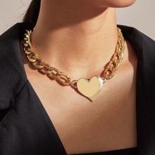 1pc Herz Charm Kette Halskette