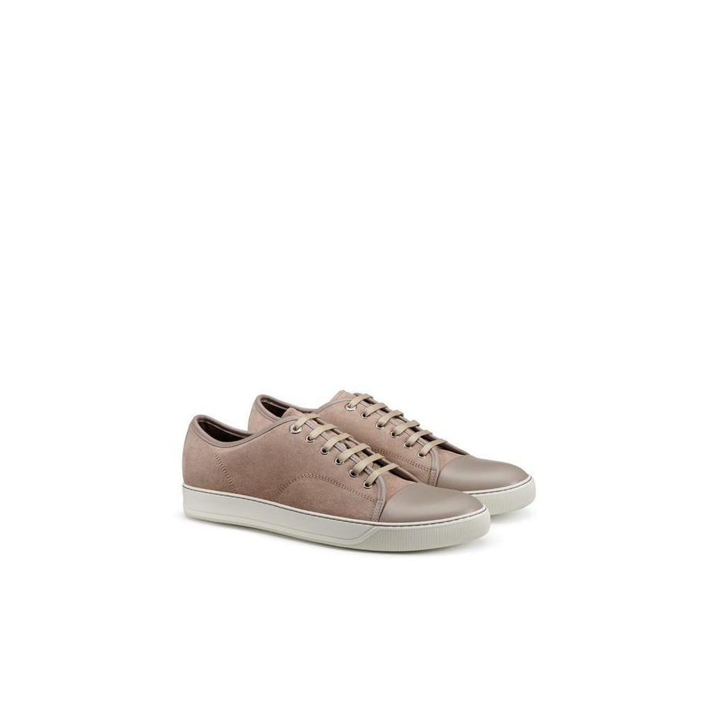 Lanvin Suede Sneekers Colour: BROWN, Size: 7