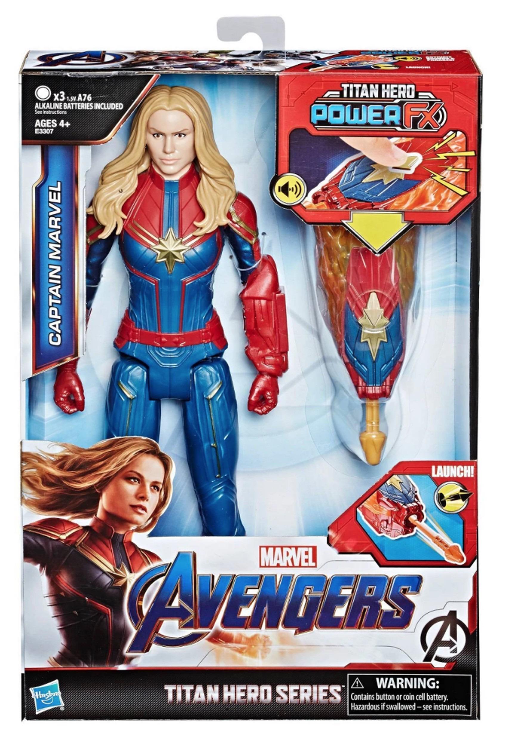 Avengers: Endgame Titan Hero Series Power FX Captain Marvel